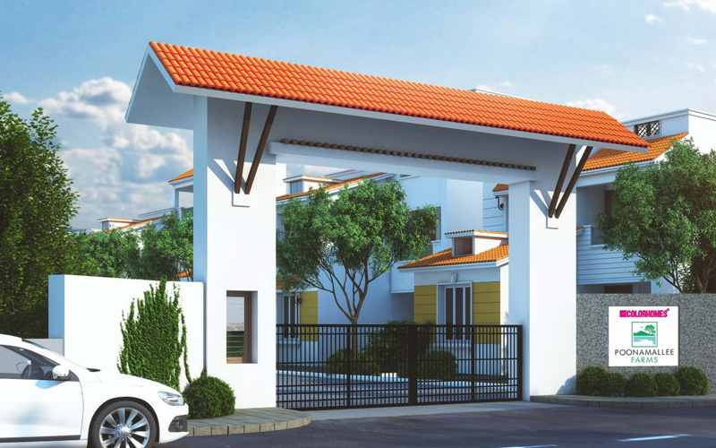 Color Poonamallee Farms by Color Homes Developers Villas in