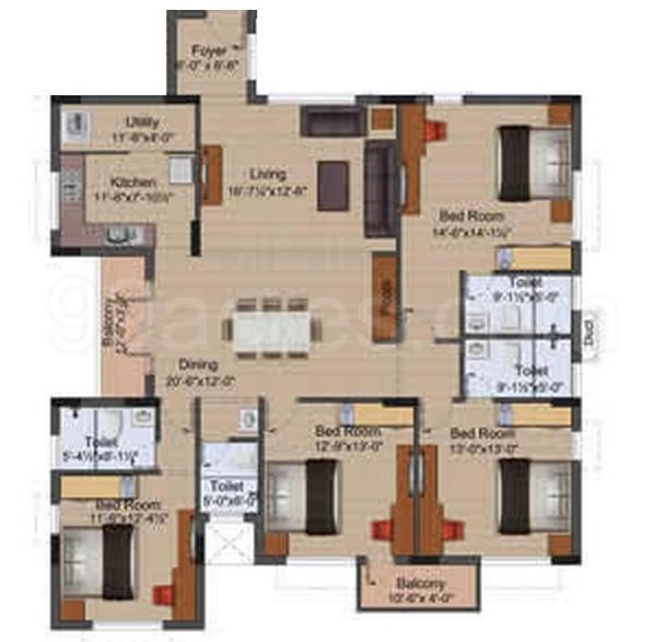 Silver Ridge Apartments: Mayflower Silver Ridge By Mayflower Enterprises Coimbatore