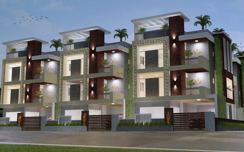 Grandeur Villa By BHARATHI HOMES & REALTORS PVT LTD