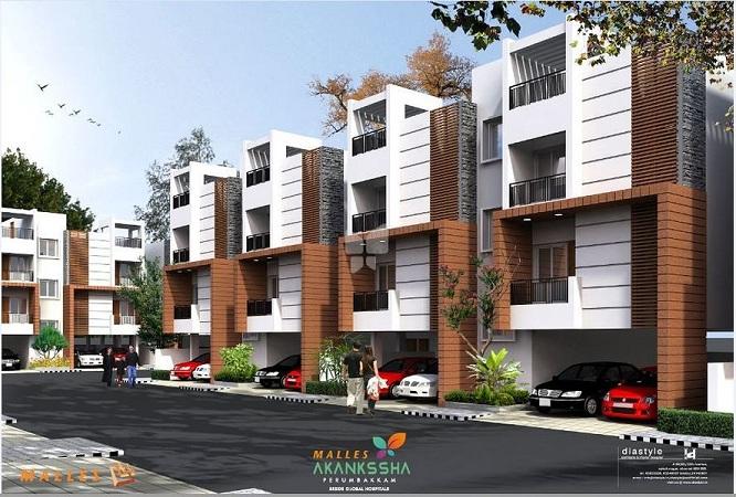 Malles - Akankssha Apartments