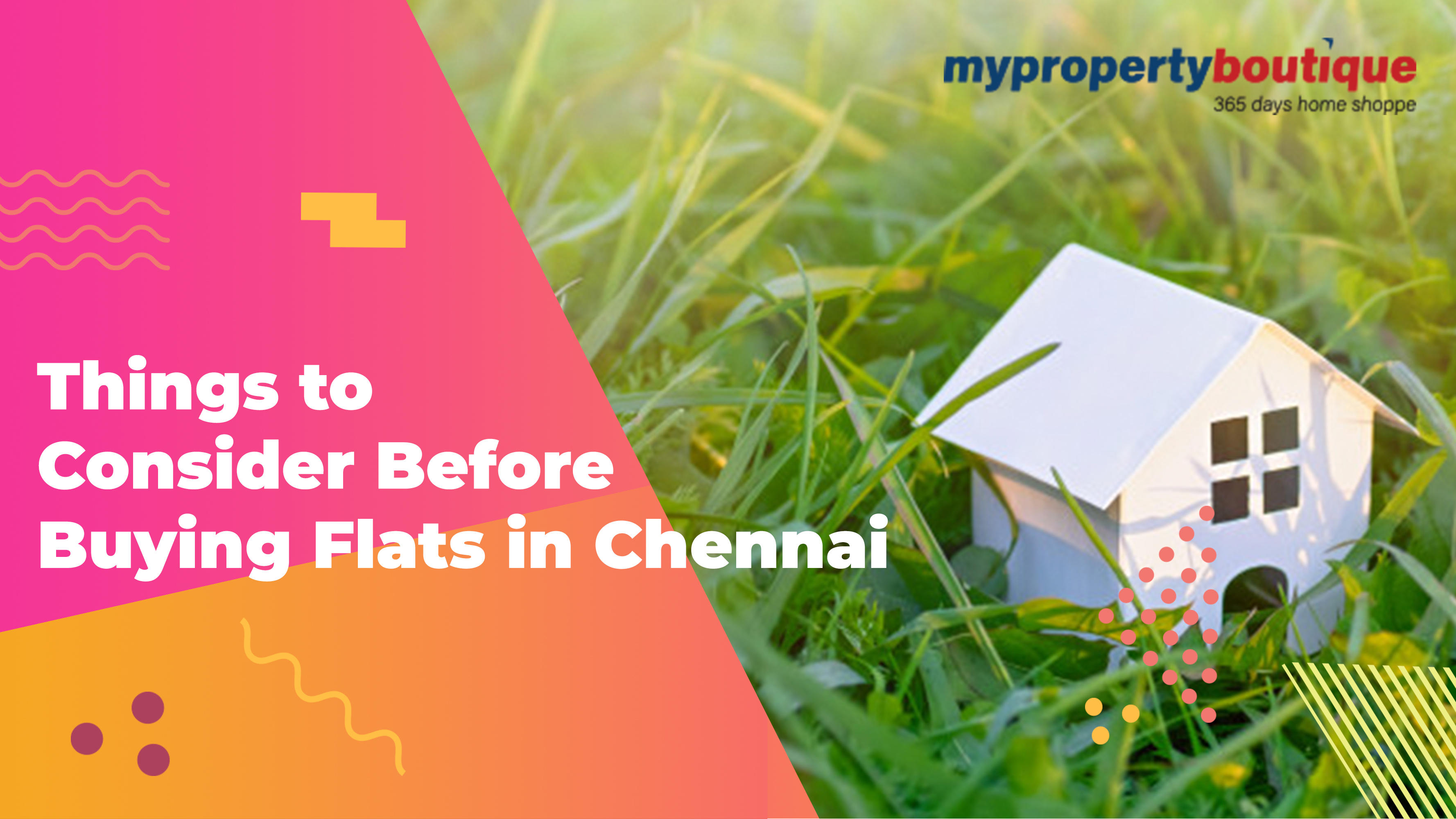 Things to Consider Before Buying Flats in Chennai