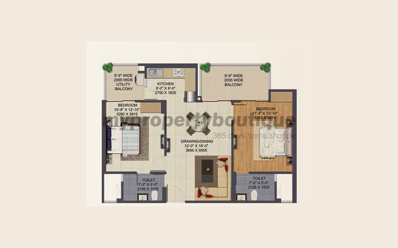 Ajnara Klock Tower By Ajnara India Builders Noida Apartments In Sector 74 Noida My Property Boutique